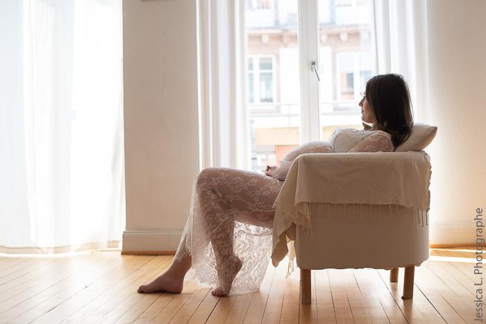 Photo de grossesse à domicile
