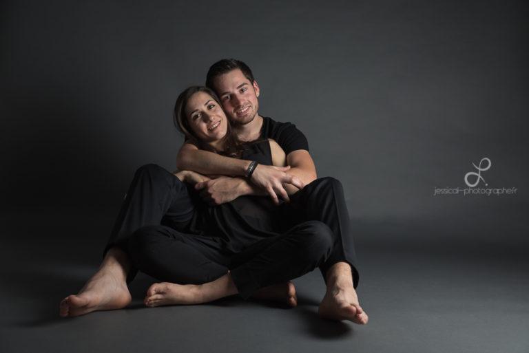 Séance couple en studio : Vanessa & Marc